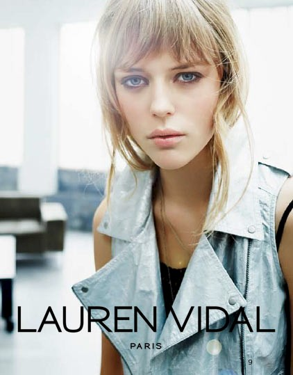Lauren Vidal by Michel Haddi
