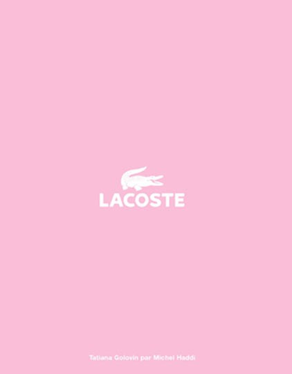 Lacoste by Michel Haddi