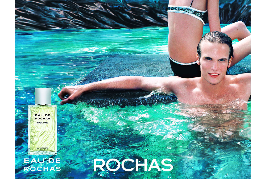 Eau de Rochas Iconic Photography by Michel Haddi 1