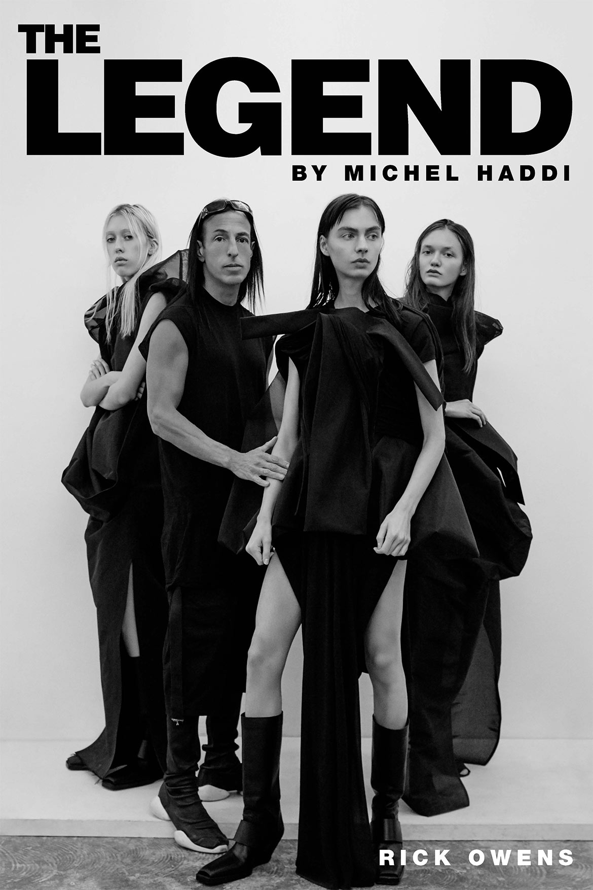 The Legend - Rick Owens by Michel Haddi